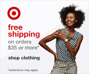 Target online offers FREE shipping on orders $35 or more. Restrictions apply.